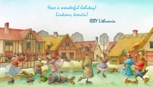 Seasons's Greetings From Ibby Lithuania